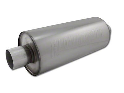 Flowmaster DBX Series Center/Center Bullet Style Muffler - 3.0 in. (97-18 All)