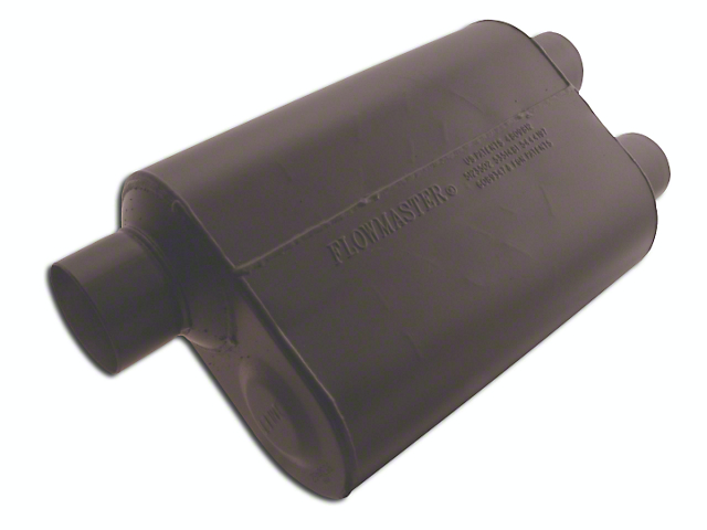 Flowmaster Super 40 Series Offset/Dual Out Oval Muffler - 3.0 in. / 2.5 in. (97-18 F-150)