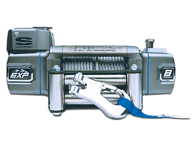 Superwinch EXP Series 10,000 lb. Winch w/ Synthetic Rope & Remote Mount Solenoid Box