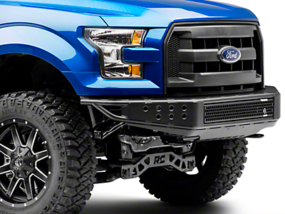 RedRock 4x4 Tubular Off-Road Front Bumper (15-17 F-150, Excluding Raptor)