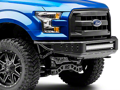 Barricade Extreme HD Tubular Front Bumper w/ 30 in. LED Light Bar (15-17 F-150, Excluding Raptor)
