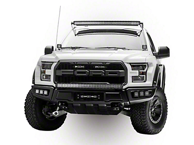 ZRoadz Dual 6 in. LED Light Bars w/ Mounting Brackets for OEM Grille (17-18 F-150 Raptor)
