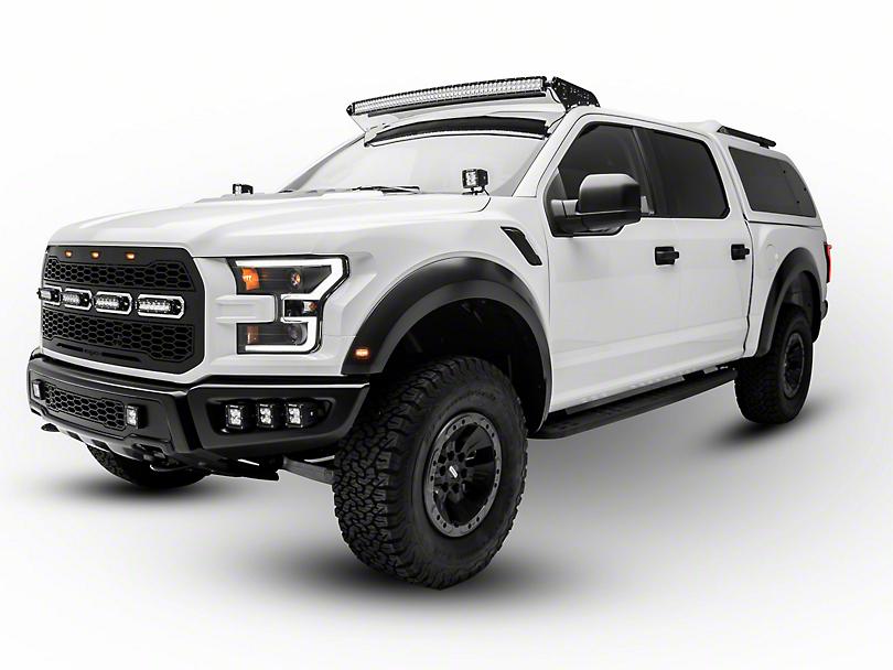 ZRoadz Front Roof 52 in. LED Light Bar Mounting Brackets (17-18 Raptor)