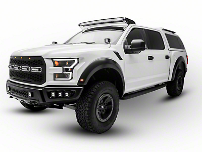 ZRoadz Front Roof 52 in. LED Light Bar Mounting Brackets (17-18 Raptor)