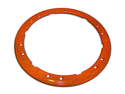 Ford Performance Bead Lock Wheel Trim Ring - Orange (17-18 F-150 Raptor)