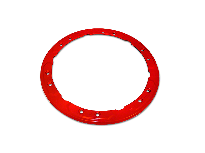 Ford Performance Bead Lock Wheel Trim Ring - Red (17-18 F-150 Raptor)