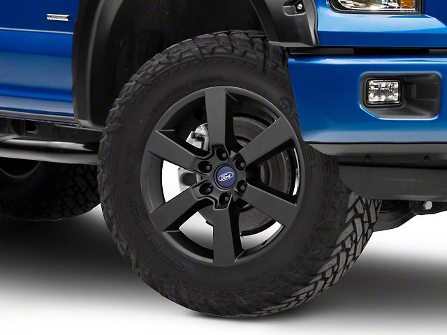 Ford Performance Six Spoke Matte Black 6-Lug Wheel - 20x8.5; 44mm Offset (15-19 F-150)