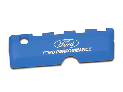 Ford Performance Coil Covers w/ Ford Performance Logo - Blue (11-17 5.0L)