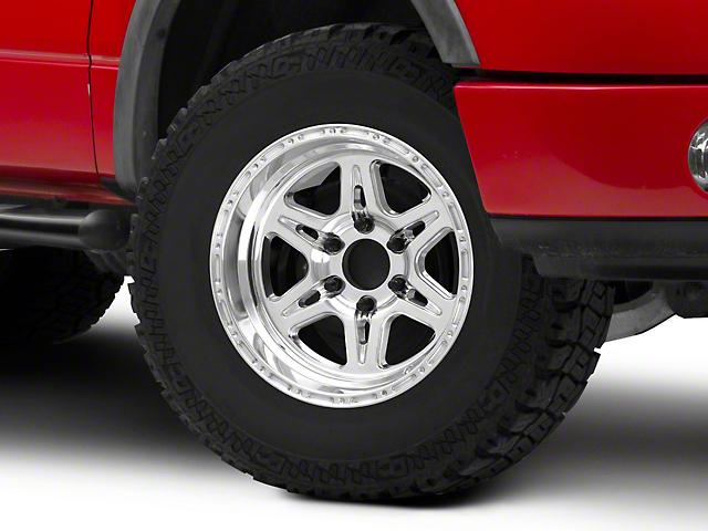 Raceline 886 Renegade Polished 6-Lug Wheel;17x9; 6mm Offset (04-08 F-150)
