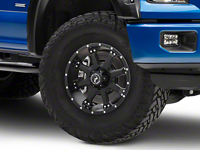 Raceline Assault Black 6-Lug Wheel - 18x9 (04-18 F-150)