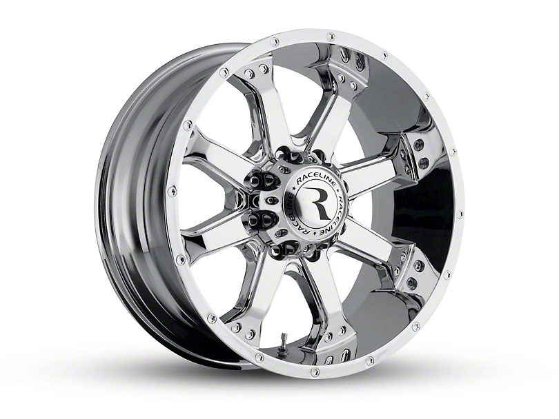 Raceline Assault Chrome 6-Lug Wheel - 17x9 (04-18 F-150)