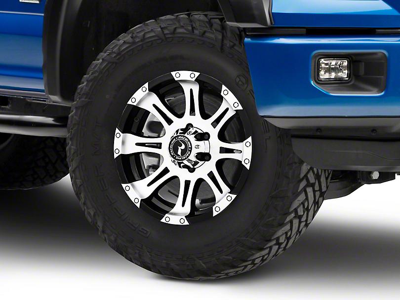 Raceline Raptor Black Machined 6-Lug Wheel - 18x9 (04-18 F-150)