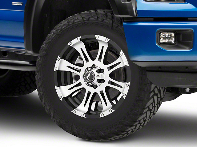Raceline Raptor Black Machined 6-Lug Wheel - 20x9 (04-18 All)