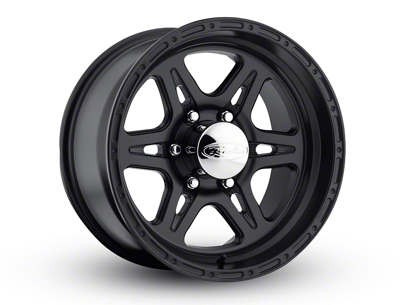 Raceline Renegade Satin Black 6-Lug Wheel - 17x9; 6mm Offset (15-19 F-150)