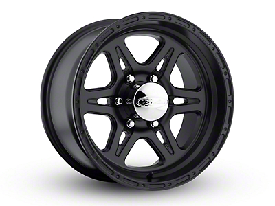 Raceline Renegade Satin Black 6-Lug Wheel - 17x9 (04-18 All)