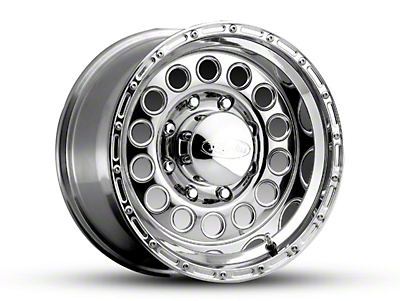 Raceline Rockcrusher Polished 5-Lug Wheel - 16x10 (97-03 All)