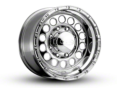 Raceline Rockcrusher Polished 6-Lug Wheel - 17x9 (04-18 All)