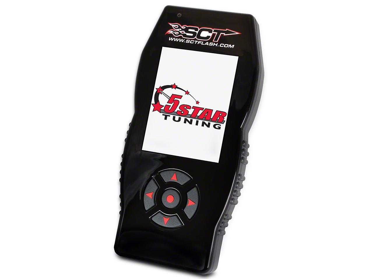 5 Star SF4/X4 Power Flash Tuner w/ 3 Custom Tunes (97-03 5.4L F-150, Excluding Lightning & 02-03 Harley Davidson)