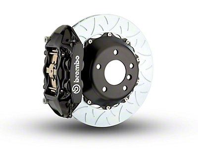 Brembo GT Series 4-Piston Rear Brake Kit - Type 3 Rotors - Black (15-18 All, Excluding Raptor)