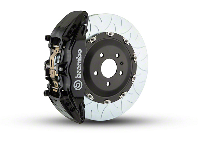 Brembo GT Series 6-Piston Front Brake Kit - Type 3 Rotors - Black (09-14 2WD F-150)