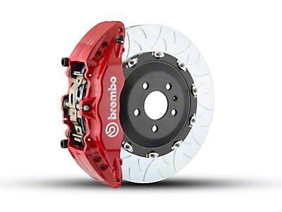 Brembo GT Series 6-Piston Front Brake Kit - Type 3 Rotors - Red (09-14 2WD)