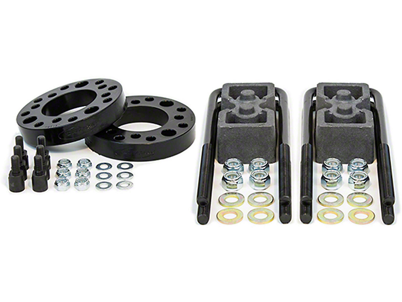 Daystar 2 in. Front / 1 in. Rear Suspension Lift Kit (09-18 2WD/4WD, Excluding Raptor)