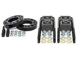Daystar 2-Inch Front / 1-Inch Rear Suspension Lift Kit (09-22 2WD/4WD F-150, Excluding Raptor)