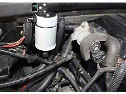 JLT 3.0 Satin Oil Separator; Passenger Side (99-03 F-150 Lightning; 02-03 F-150 Harley Davidson)