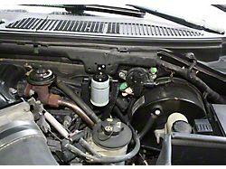 JLT 3.0 Satin Oil Separator; Driver Side (99-03 F-150 Lightning; 02-03 F-150 Harley Davidson)
