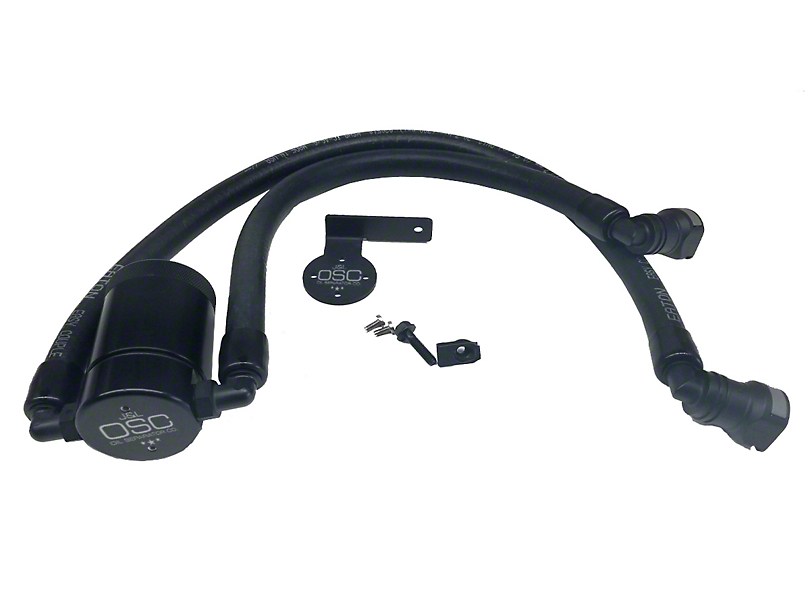 JLT V3.0 Black Oil Separator - Driver Side (10-14 6.2L F-150 Raptor; 11-17 5.0L F-150)
