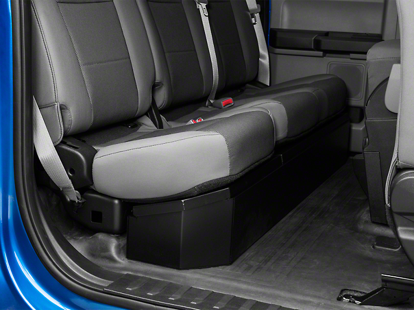 Tuffy Under Rear Seat Lockbox (15-19 F-150 SuperCab, SuperCrew)