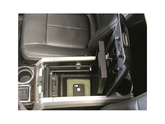 Tuffy Center Console Security Insert (09-14 F-150 w/ Flow-Through Center Console)
