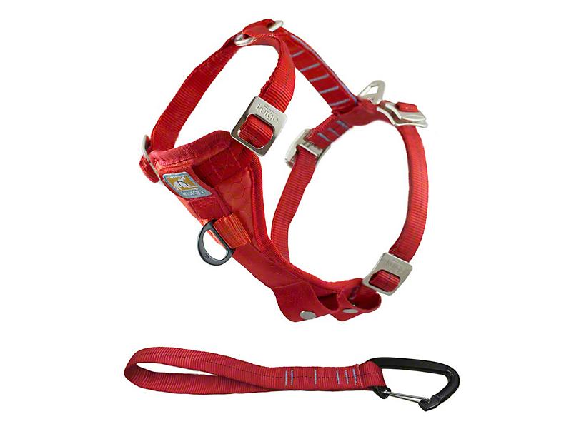 Kurgo Enhanced Strength TruFit Dog Car Harness - Red (97-18 F-150)