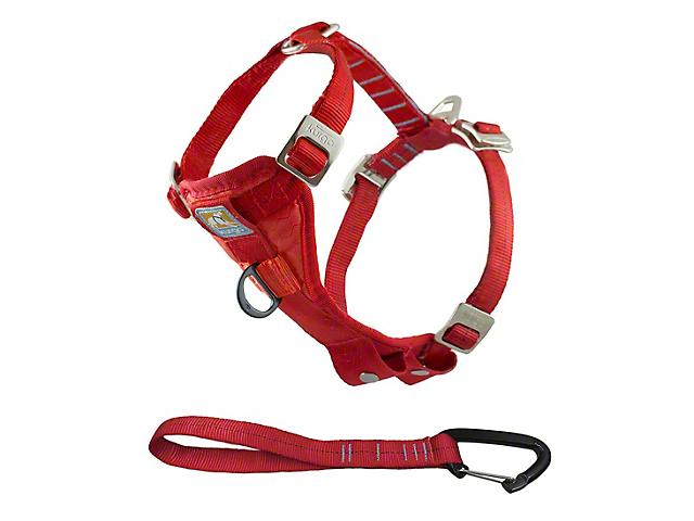 Kurgo Enhanced Strength TruFit Dog Car Harness - Red (97-18 All)