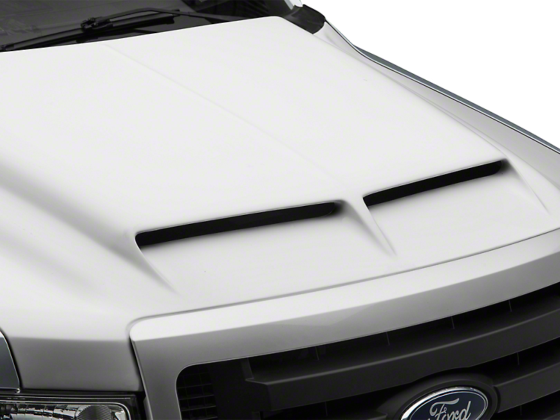 Cervini's Type IV Ram Air Hood - Unpainted (09-14 F-150, Excluding Raptor)