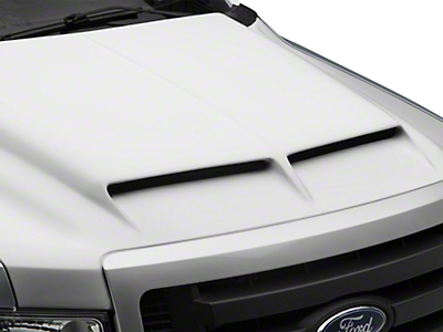 Cervini's Type IV Ram Air Hood - Unpainted (09-14 All, Excluding Raptor)