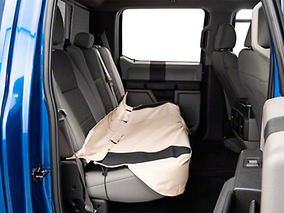Kurgo Shorty Rear Bench Seat Cover - Hampton Sand (97-18 F-150 SuperCab, SuperCrew)
