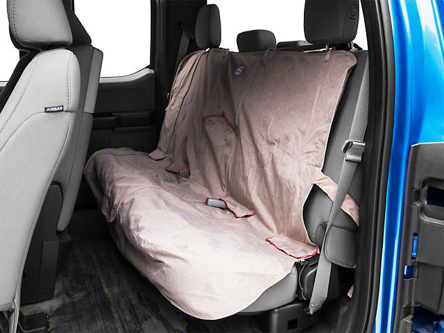 Kurgo Rear Bench Seat Cover - Heather - Nutmeg (97-18 SuperCab, SuperCrew)