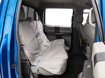 Rear Bench Seat Cover - Heather - Gray (97-19 F-150 SuperCab, SuperCrew)