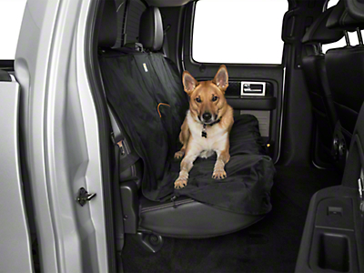 Kurgo Wander Rear Bench Seat Cover - Black (97-18 F-150 SuperCab, SuperCrew)