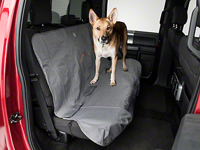Kurgo Wander Rear Bench Seat Cover - Charcoal (97-18 F-150 SuperCab, SuperCrew)