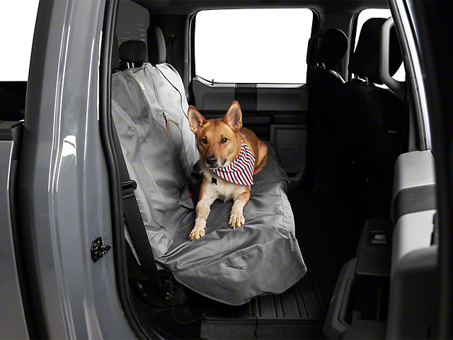 Extended Width Wander Rear Bench Seat Cover - Charcoal - 63 in. wide (97-19 F-150 SuperCab, SuperCrew)