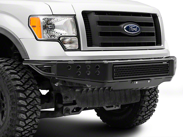 RedRock 4x4 Tubular Off-Road Front Bumper (09-14 F-150, Excluding Raptor)