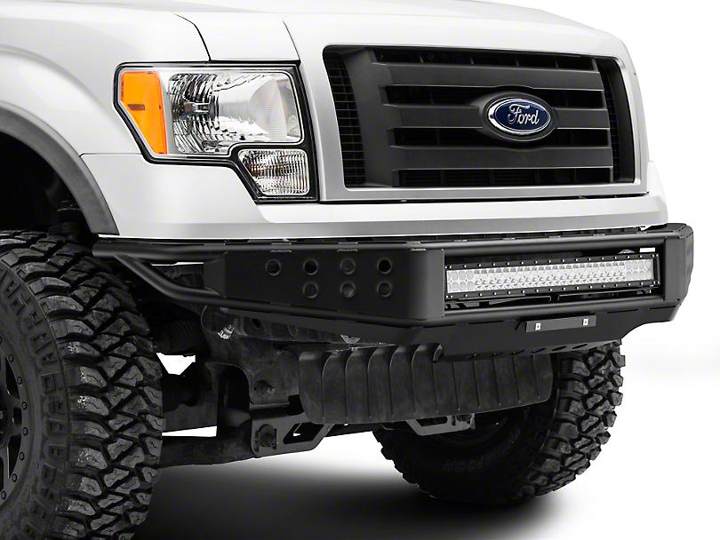 RedRock 4x4 Tubular Off-Road Front Bumper w/ 30 in. LED Light Bar (09-14 F-150, Excluding Raptor)
