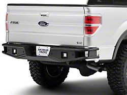 RedRock 4x4 Tubular Off-Road Rear Bumper with LED Fog Lights (06-14 F-150)