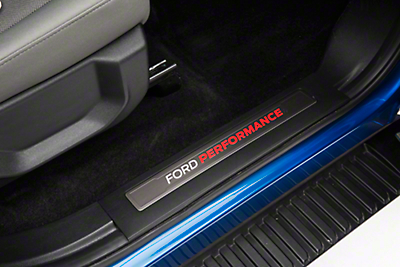 Ford Performance Front Door Sill Plates (15-18 F-150 SuperCrew)