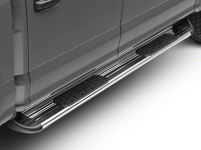 Raptor Series 7 in. SSR Stainless Steel Running Boards - Polished (15-19 F-150 SuperCab, SuperCrew)