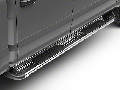 Raptor Series 7 in. SSR Stainless Steel Running Boards - Polished (15-18 F-150 SuperCab, SuperCrew)