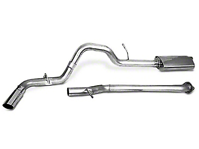 CGS Motorsports Aluminized Single Exhaust System - Side Exit (15-19 2.7L EcoBoost F-150)