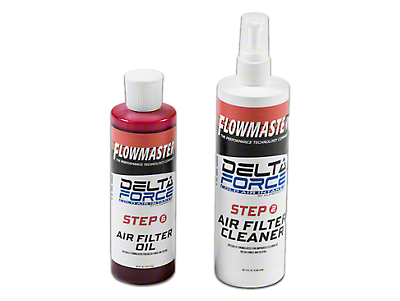 Flowmaster Cold Air Intake Filter Refresh Kit (97-18 F-150)